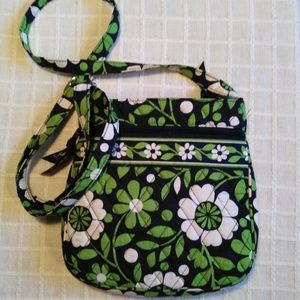 """Vera Bradley """"Lucky You"""" Quilted Cotton Crossbody"""